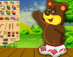 игры my bear dress up
