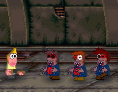 игры attack of the zombies